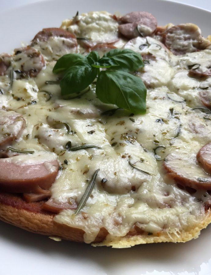 Pannepizza laget i en fei..