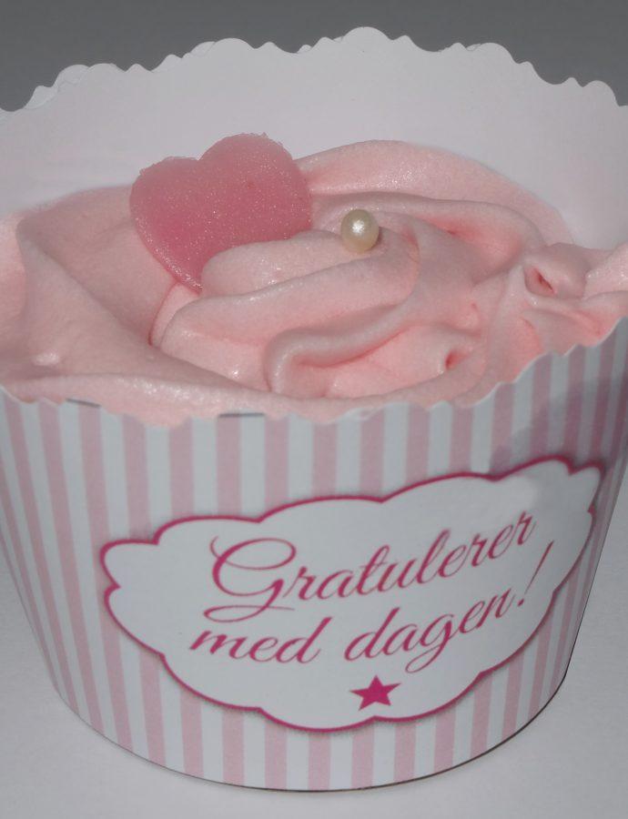 Søte og syrlige cupcakes